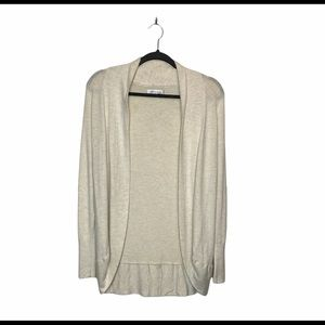 Only Mid Length Rounded Open Cardigan